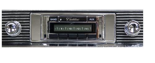 Custom AutoSound 1961-62 Cadillac USA-230 In Dash AM/FM