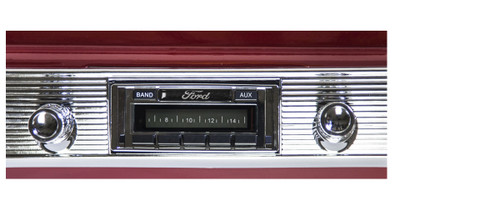 Custom AutoSound 1942-48 All Fords USA-230 In Dash AM/FM