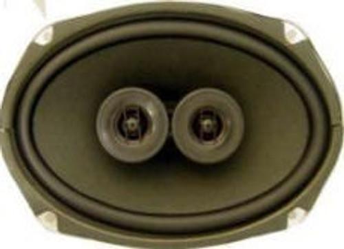 Antique Automobile 6x9 Low Profile Speaker Dual Voice Coil Speaker
