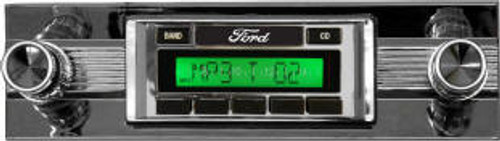 Custom AutoSound 1942-48 All Fords USA-630 In Dash AM/FM