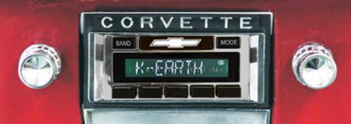 Custom AutoSound 1963-67 Corvette USA-630 In Dash AM/FM