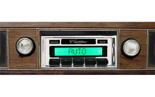 Custom AutoSound 1971-73 Cadillac USA-630 In Dash AM/FM