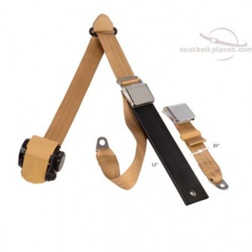 Seatbelt Planet 3pt Ret Lift Latch Style Lap/Shoulder Seat Belt