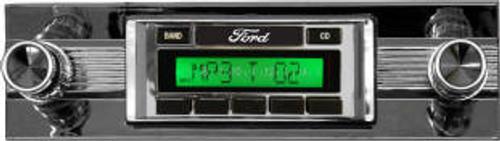 Custom AutoSound 1966-70 Falcon USA-630 In Dash AM/FM