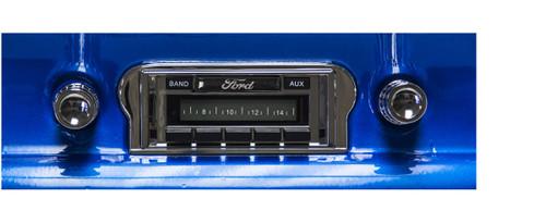 Custom AutoSound 1960-63 Falcon USA-630 In Dash AM/FM