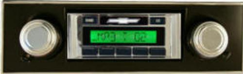 Custom AutoSound 1968-72 Nova USA-230 In Dash AM/FM