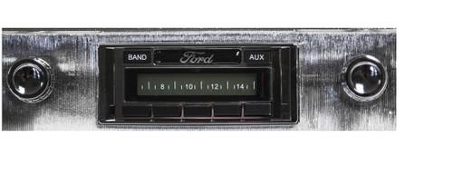 Custom AutoSound 1949-50 All Fords USA-230 In Dash AM/FM