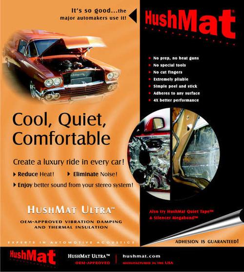 HushMat Ultra Door Kit - Black - #10200