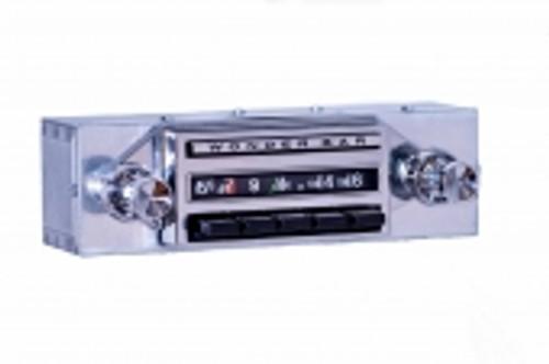 Repro1962 Chevrolet Chevy II & Nova Wonderbar AM/FM/Stereo Radio with bluetooth