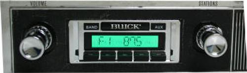 Custom AutoSound 1957-58 Buick Special USA-230 In Dash AM/FM