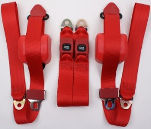 3pt Seatbelt w/Plastic Buckle Style