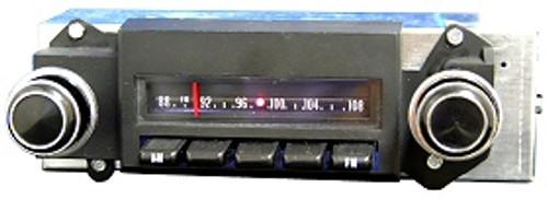 Repro 1970½-77 Pontiac Firebird AM/FM Stereo Radio with bluetooth
