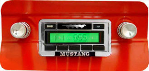 Custom AutoSound 1979-84 Mustang USA-230 In Dash AM/FM