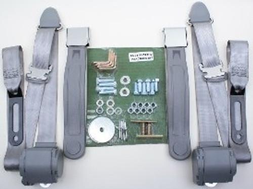 1964-73 Mustang 3pt. Point Conversion Seat Belt