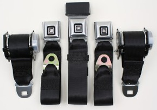 1982-88 GM G-Body Seat Belts for Rear Seats