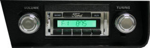 Custom AutoSound 1970-71 Ranchero USA-230 In Dash AM/FM