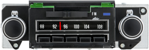 Repro 1969 Camaro AM/FM/Stereo Radio with bluetooth