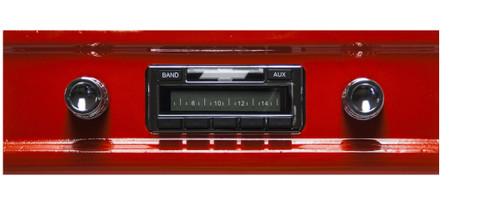 Custom AutoSound 1960-63 Chevy Truck USA-230 In Dash AM/FM