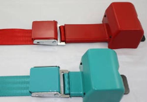 2-Point Color Lift Latch Seat Belts