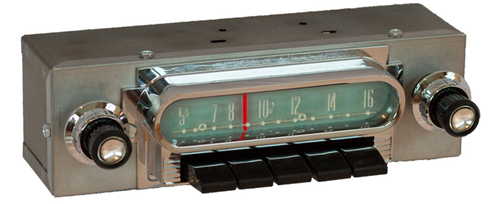 1961 Mercury Meteor AM/FM/Stereo Radio with bluetooth