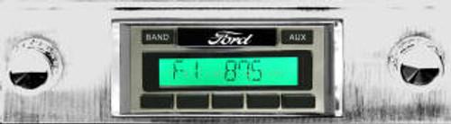 Custom AutoSound 1951-52 Ford Truck USA-230 In Dash AM/FM