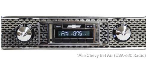 Custom AutoSound 1953-54 Chevy USA-630 In Dash AM/FM