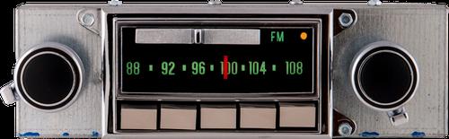 Repro 1968-71 Corvette AM/FM Stereo Radio with bluetooth