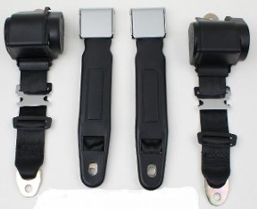 3pt Seatbelt w/Chrome Lift Latch Style
