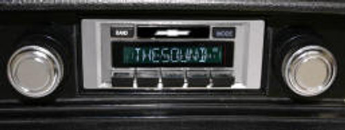 Custom AutoSound 1973-77 Chevelle USA-630 In Dash AM/FM