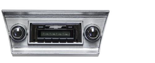 Custom AutoSound 1966-67 Chevelle USA-630 In Dash AM/FM