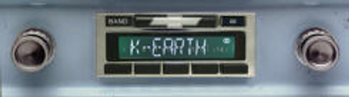 Custom AutoSound 1960-63 Chevy Truck USA-630 In Dash AM/FM