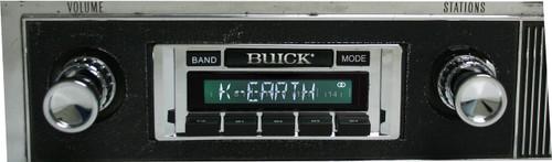 Custom AutoSound 1960-83 Buick USA-630 In Dash AM/FM