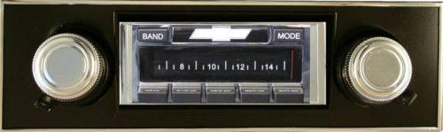 Custom AutoSound USA-630 In Dash AM/FM 93 for Bel Air