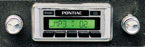 Custom AutoSound USA-630 In Dash AM/FM 93 for Pontiac Bonneville