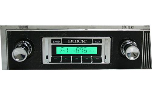 Custom AutoSound USA-630 Buick In Dash AM/FM 93