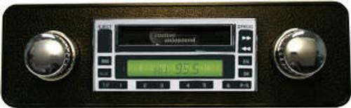 Custom AutoSound USA-230 for a Chevy Truck In Dash AM/FM 59