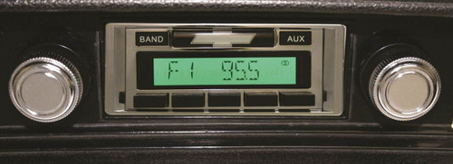 Custom AutoSound USA-230 In Dash AM/FM 2 Chevy Corvette