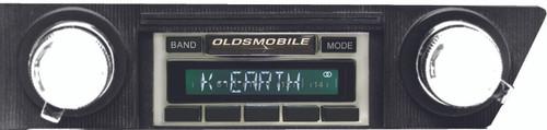 Custom AutoSound USA-630 for a Cutlass In Dash AM/FM