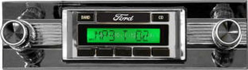 Custom AutoSound USA-630 for Ford Fairlane In Dash AM/FM 93
