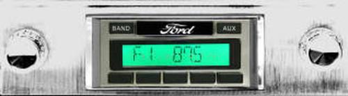 1939-1940 Custom AutoSound USA-630 Ford