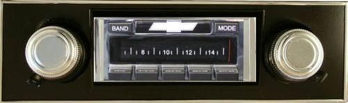 Custom AutoSound For A USA-630 Ford Bronco In Dash AM/FM 93