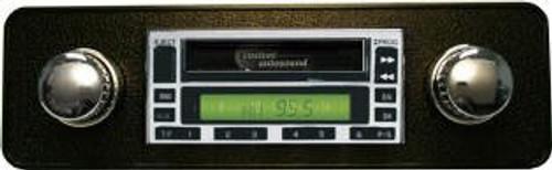 Custom AutoSound USA-230 For A Ford Truck In Dash AM/FM 77