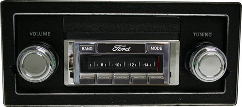 Custom AutoSound USA-630 For A Ford Truck In Dash AM/FM 93