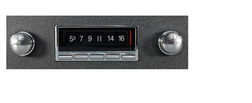Custom AutoSound 1957-58 Ford USA-740 In Dash AM/FM