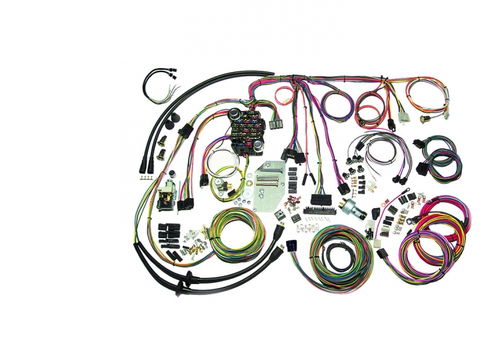 American Autowire 1955-56 Chevy Bel Air Classic Update Complete Wiring Harness