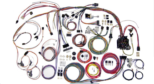 American Autowire 1970-72 Chevy Chevelle Classic Update Complete Wiring Harness