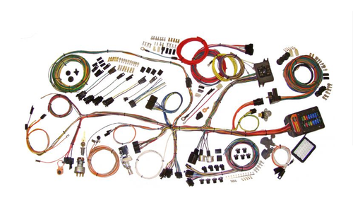 American Autowire 1962-67 Chevy Nova Classic Update Complete Wiring Harness