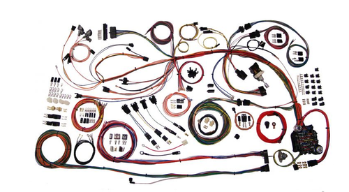 American Autowire 1968-69 Chevy Chevelle Classic Update Complete Wiring Harness