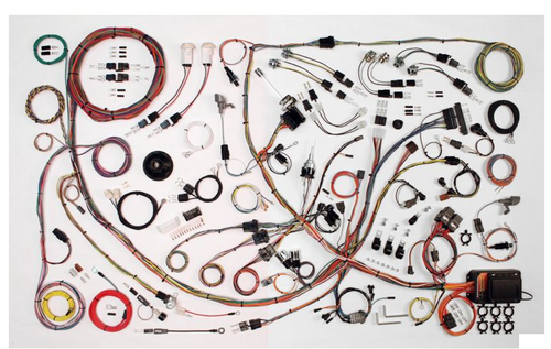 American Autowire 1971-73 Ford Mustang Classic Update Complete Wiring Harness