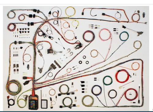 American Autowire 1962-65 Ford Fairlane & 1962-3 Mercury Meteor Classic Update Complete Wiring Harness